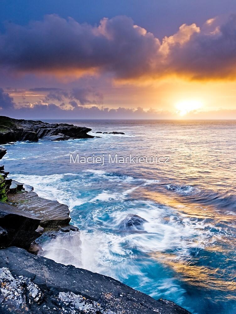Sunset in Ireland by Maciej Markiewicz