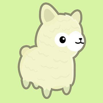 Kawaii llama by NirPerel