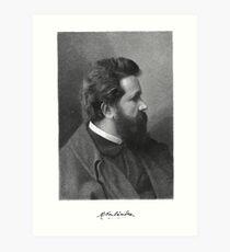 Adolf Oberländer or Oberlander Lindner Art Print