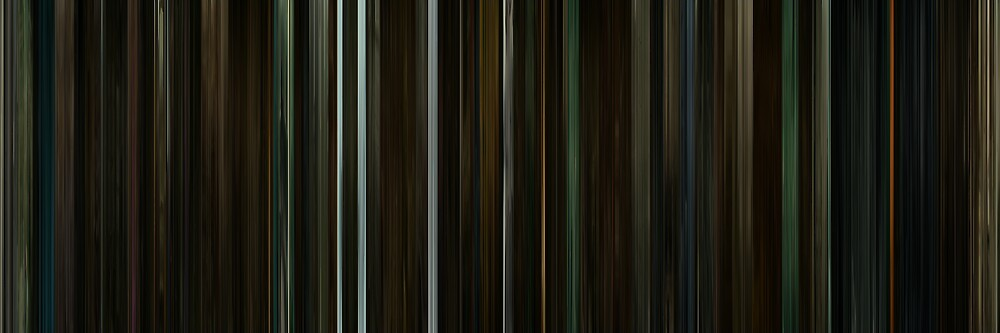 Moviebarcode: Harry Potter and the Half-Blood Prince (2009) by moviebarcode
