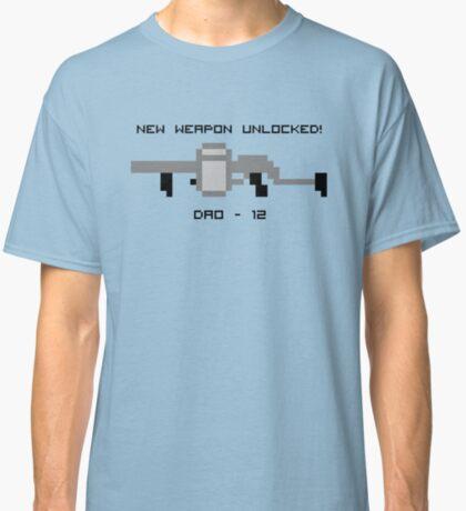 New Weapon Unlocked! DAO-12 Classic T-Shirt