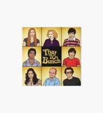 That '70s Bunch (That '70s Show) Art Board