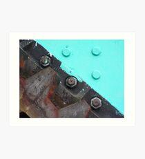 Vital cog? Solved by Bubblehex ~ Poole Lifting Bridge Art Print