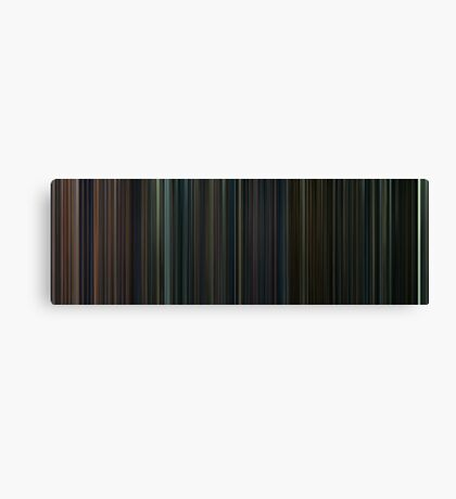 Moviebarcode: Harry Potter: Complete Series (2001-2011) Canvas Print