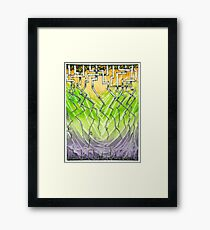 Cave of the Dragon-tongued Tendrils Framed Print