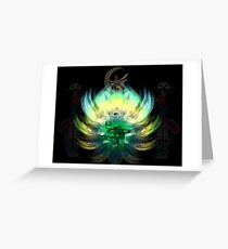 new moon anointing Greeting Card