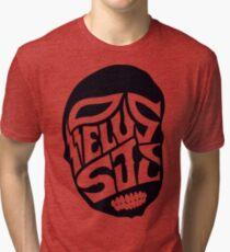 PelusSkull Tri-blend T-Shirt