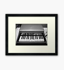 Fender Rhodes Electric Piano Framed Print