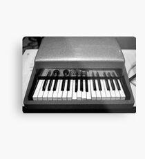 Fender Rhodes Electric Piano Metal Print