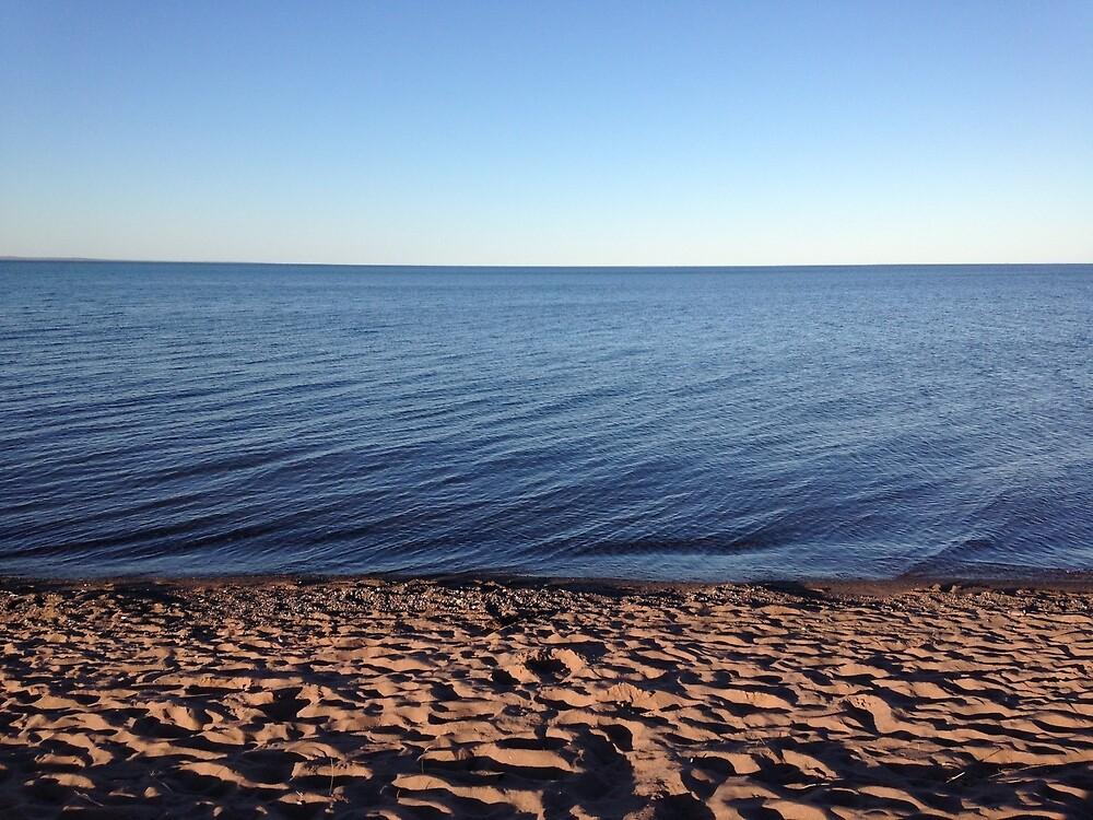 Lake Superior Sand Beach by MattSchreder