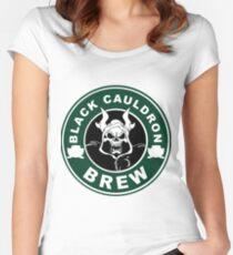 Black Cauldron Brew Women's Fitted Scoop T-Shirt