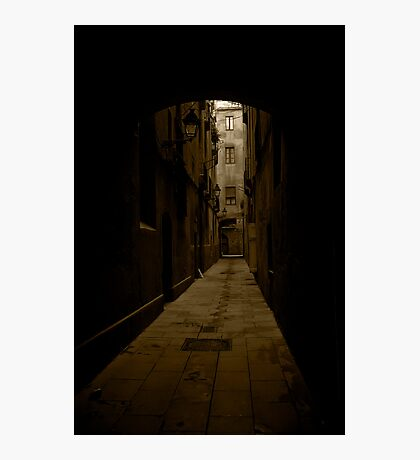 Barcelona Alley Photographic Print