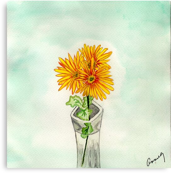Chrysanthemums from Sue by Anne Gitto