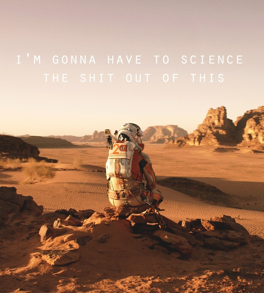 The Martian Quote by liilliith