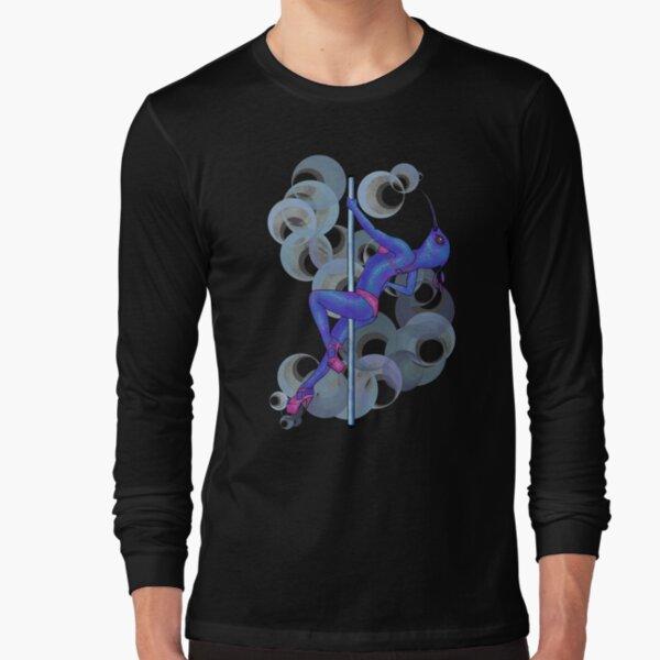 Hummingbird in bar Long Sleeve T-Shirt