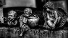 Three Cherubs -- Miami Cemetery by Bill Wetmore