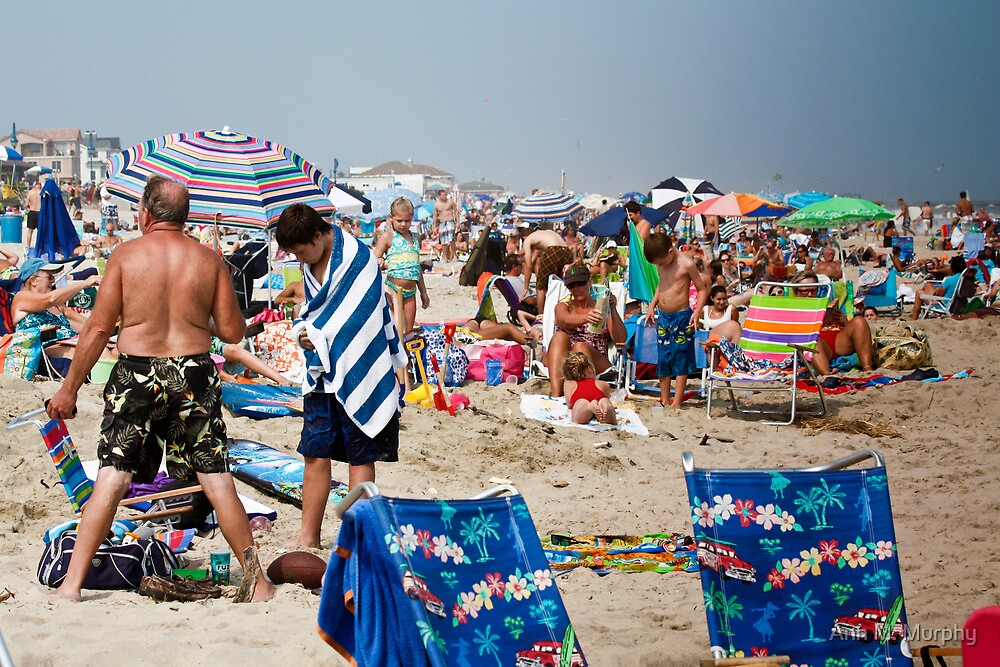 Cooling off at the Jersey Shore  by Ann M. Murphy