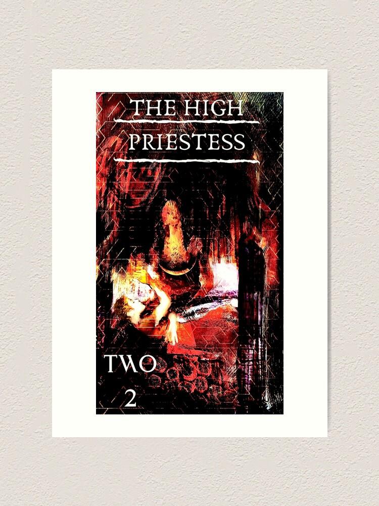 Alternate view of The High Priestess Art Print