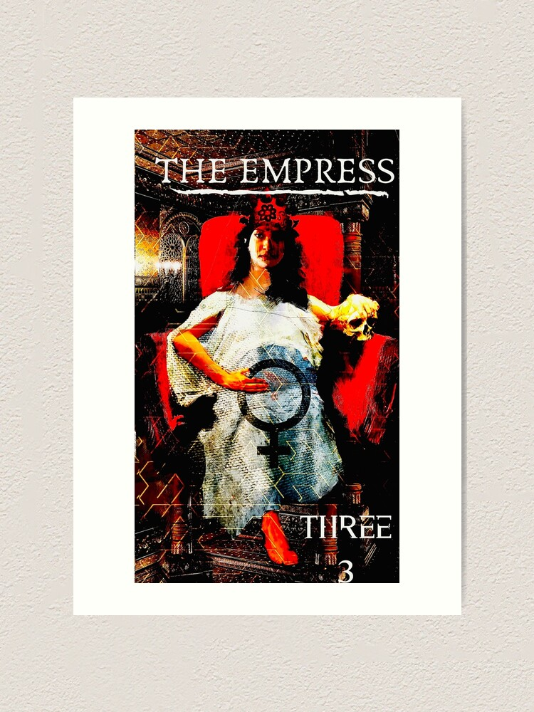 Alternate view of The Empress Art Print