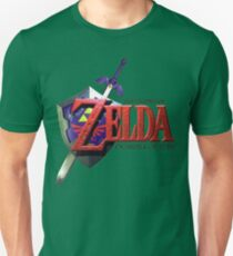 Legend Of Zelda Ocarina Of Time T-Shirt