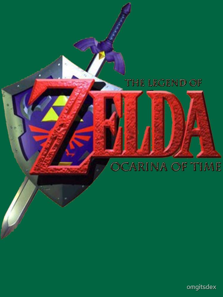 Legende von Zelda Ocarina der Zeit von omgitsdex