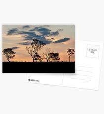 Sunset at Kilcoy Postcards