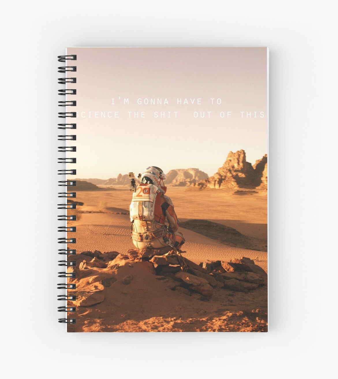 The Martian notebook by liilliith