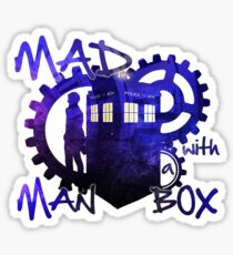 Dr Who - Mad Man with a Box Sticker