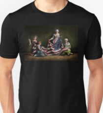 Americana - Flag - Birth of the American Flag 1915 Unisex T-Shirt