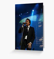 Bryan Ferry Greeting Card