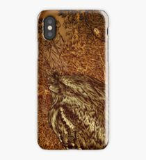 The Frogmouth. iPhone Case/Skin