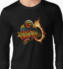 Back to the future day - Cubs win Long Sleeve T-Shirt