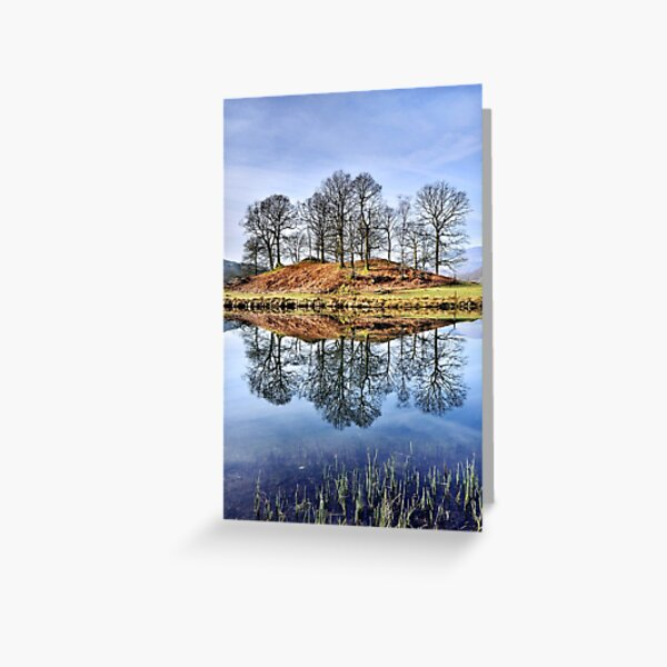 River Brathay Reflections - The Lake District Greeting Card