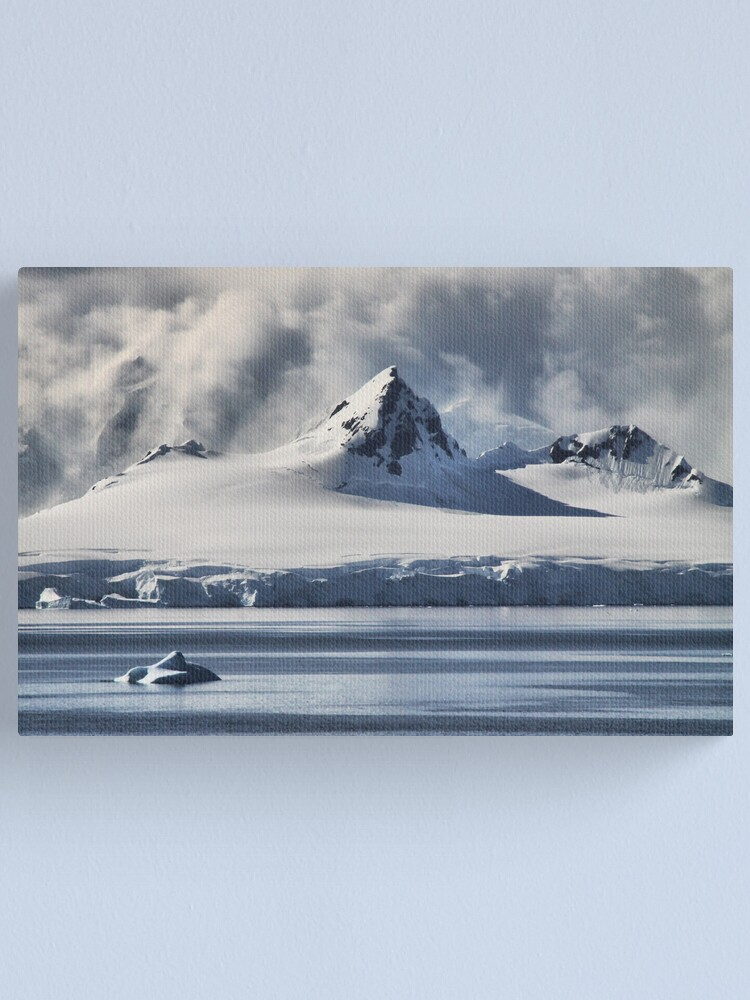 Alternate view of Pristine Antarctica Canvas Print