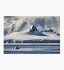 Pristine Antarctica Photographic Print