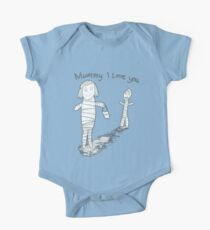 Mummie I Love You One Piece - Short Sleeve