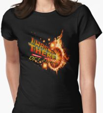 Back to the future day - out of time Women's Fitted T-Shirt