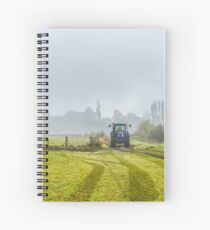 Farming In Clackmannan Spiral Notebook