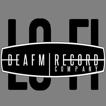"DeaFM Record Co. - ""Noise"" Logo by deafmrecords"