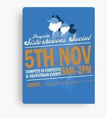 Sisterhooves Social Canvas Print