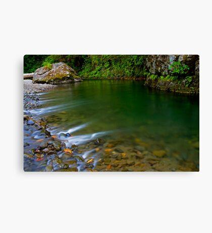 Emerald Waterscape Canvas Print