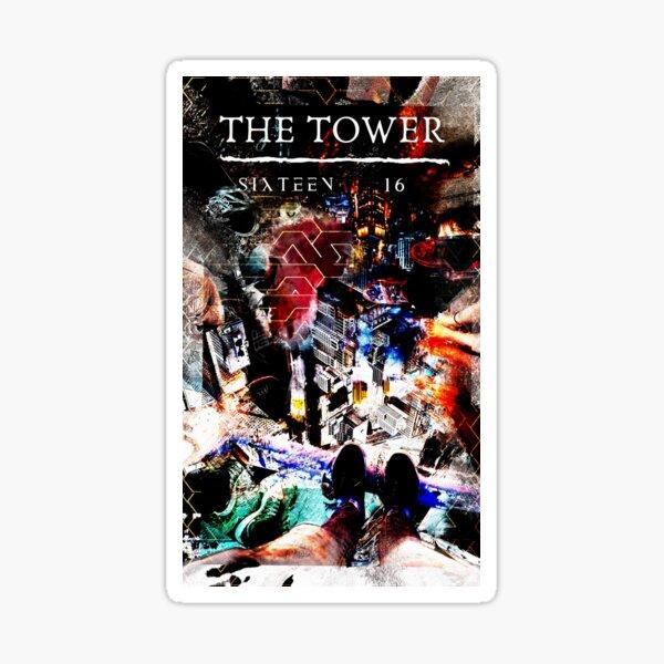The Tower (alternate 2) Sticker