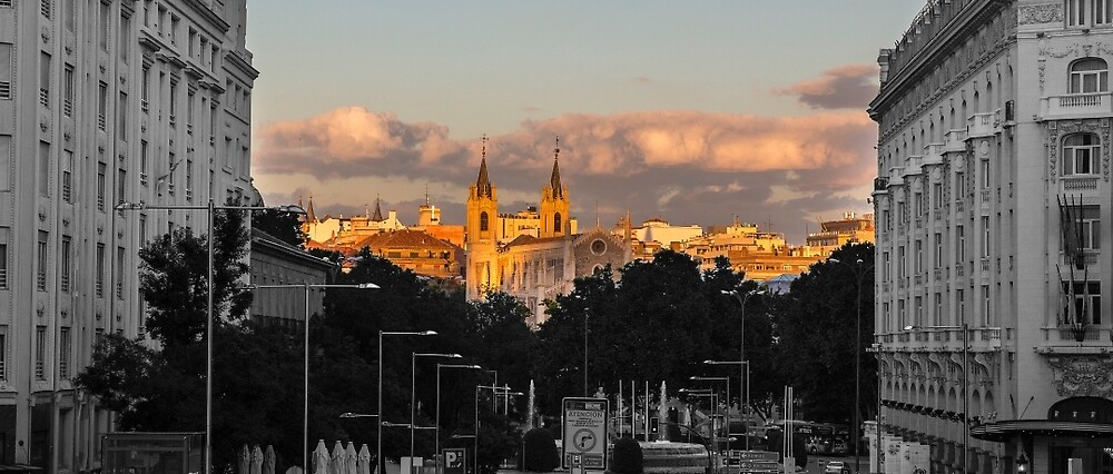Evening in Madrid by Mitchel Whitehead