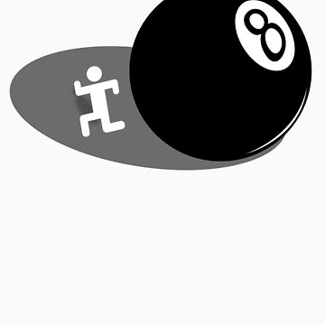 Behind the Eight Ball by tees4u