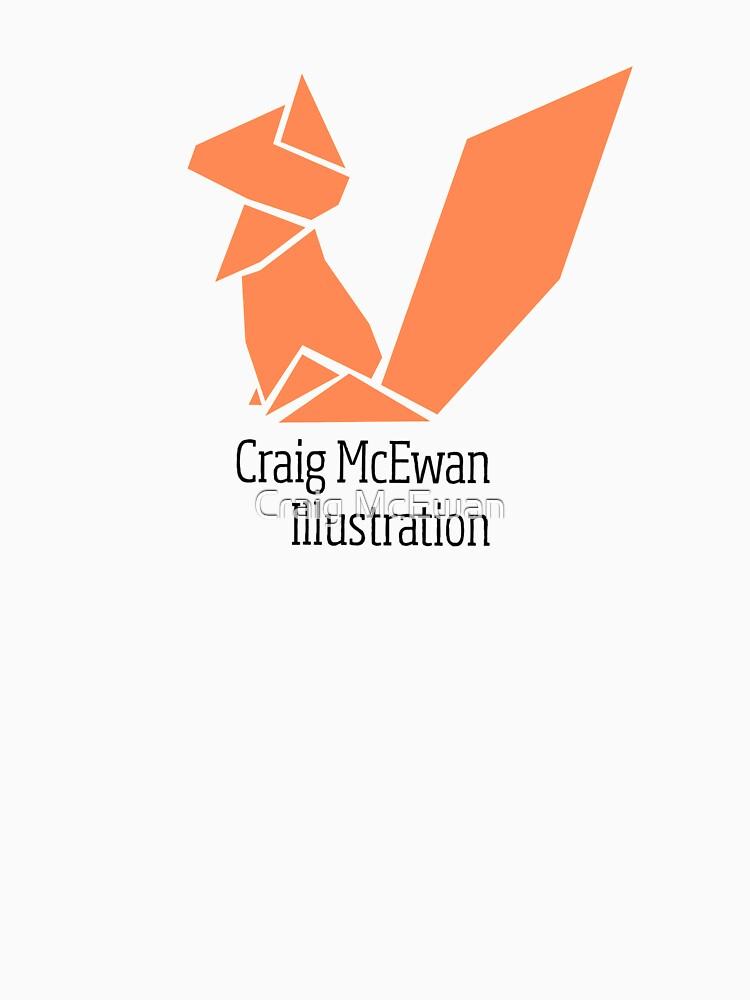 Origami Squirrel Logo By Cmcewan