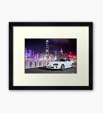TOYOTA Supra in Hong Kong Framed Print