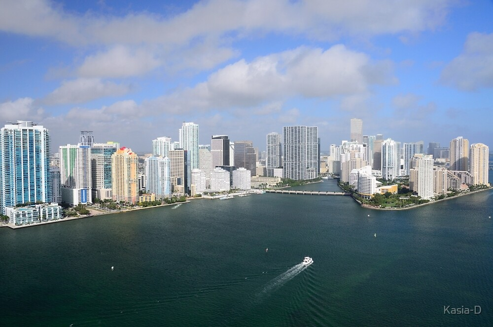 Miami: Downtown and Brickell Key by Kasia-D