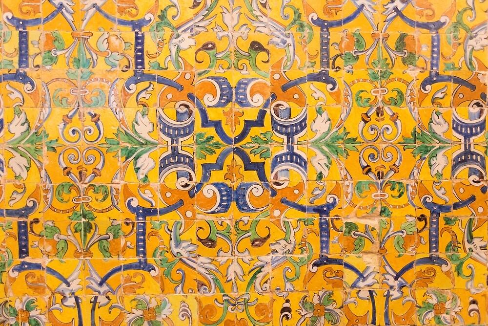 Alcazar Tiles by Mitchel Whitehead