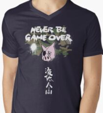 Never Be Game Over Men's V-Neck T-Shirt