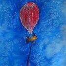 Red Balloon by Gunes Yilmaz